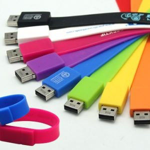 Silicone Wristband USB Flash-Drive