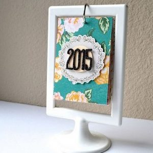 Framed Desktop calendar