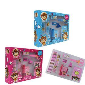sharpner and ruler rubber, stamp stationery for kids